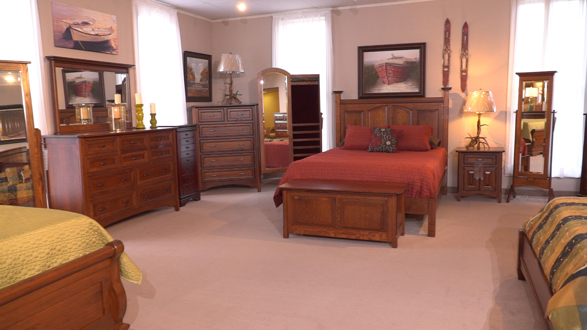 American Made Bedroom