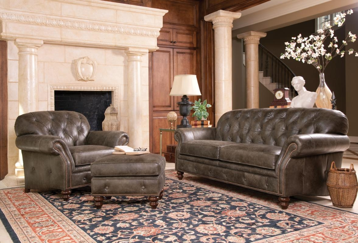 Smith Brother 396 Sofa Available In Leather Or Fabric