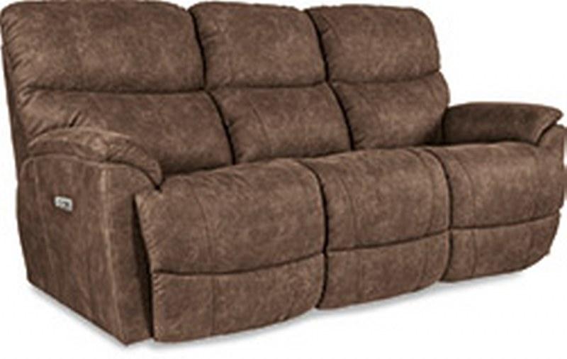 La Z Boy Power Headrest Chaise Full Reclining Sofa